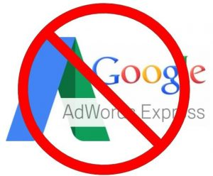 Stop using Google Ads Express